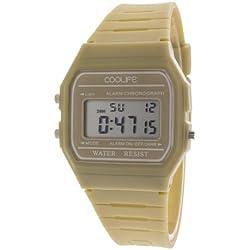 Coolife Unisex-Armbanduhr Retro Style Watches Digital Quarz Plastik CL2013G908