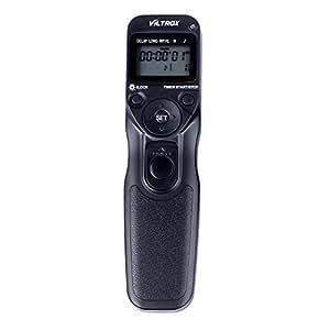 VILTROX Intervalometer Time-Lapse TELECOMMANDE REGULATEUR ET N3 Déclencheur pour Nikon D90 D600 D3100 D3200