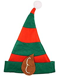 Adult Christmas Elf Hat with Ears