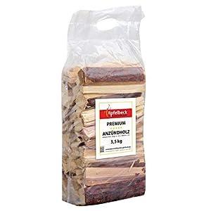 Madera de pino de alta calidad, 3,5 kg, 18-20 cm, ideal para chimenea, estufas, barbacoas y hogueras, secas, con…
