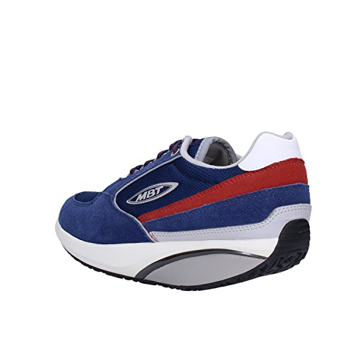 MBT Sneakers Donna Camoscio Tessuto Blu