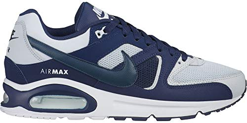 Nike Air Max Command, Chaussures d'Athlétisme Homme, Multicolore (Pure Platinum/Armory Midnight Navy 000), 45 EU
