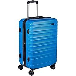 AmazonBasics - Maleta rígida giratoria - 68 cm, Azul claro