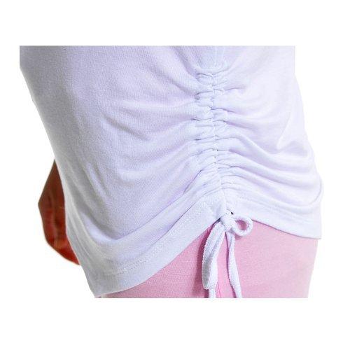 Completo elastico Sports Clothes per donna (3 pezzi) per Yoga o corsa, 95% modal. Pink