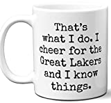 Great Lakers Gifts For Men Women. Cool Unique Funny Gift Idea Great Lakers Coffee Mug For Fans Sports Lovers. Football H