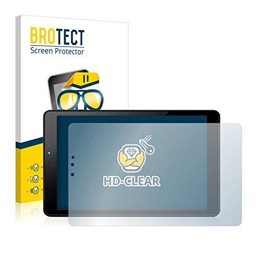BROTECT Schutzfolie kompatibel mit Allview Viva H1002 LTE [2er Pack] klare Bildschirmschutz-Folie