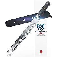 Dalstrong Tranchiermesser – Granton Schliff - Shogun Series - AUS-10V - Vakuumbehandelt – Slicing Carving Knife 30,5 cm – Mit Messerscheide