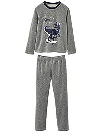 4862b227ca4 VERTBAUDET Lote de 2 Pijamas de Dos Tejidos y combinables para niño