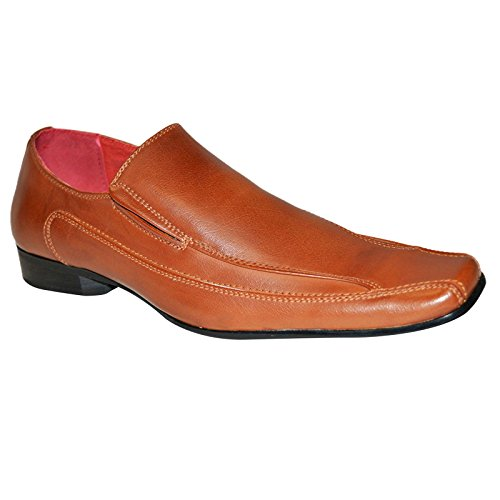 Xelay , Mocassins homme Marron mat