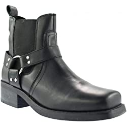 Gringos Men's M486A Chelsea Boots 7 UK Black