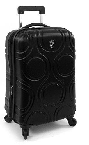 ... 50% SALE ... PREMIUM DESIGNER Hartschalen Koffer - Heys Core Eco Orbis Blau - Handgepäck Schwarz