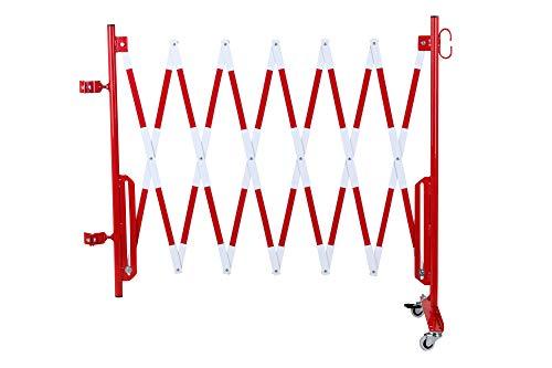 Doc Grille de protection Ciseaux montagekit pour les poteaux de blocage existants (non inclus dans la livraison) 3600 mm, diamètre 60 mm rouge/blanc