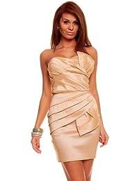Mayaadi-Deluxe Kleid Abendkleid Coctailkleid Mini HS-052
