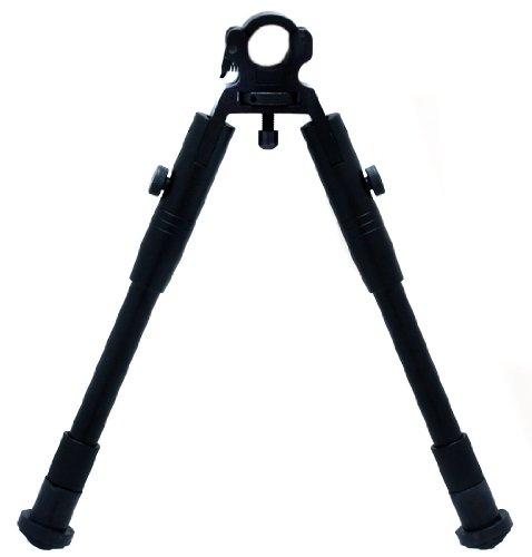 Vorderschaftauflage/-stativ passend für die meisten Waffen Zweibein Bipod Schwarz