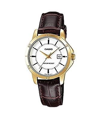 Casio Reloj con Movimiento Cuarzo japonés LTP-V004GL-7A 35 cm