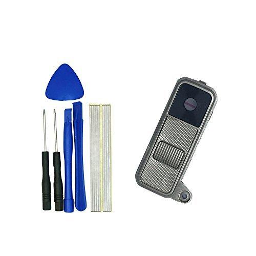 Klesti Hinten Kamera Rahmen Glas-Objektiv + Power Button + Volume Button für LG K8Phoenix 2K350N-Gold