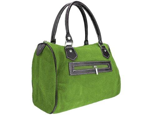 scarlet bijoux, Borsa a mano donna verde chiaro