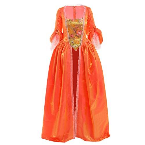 BLESSUME Frauen Rokoko Marie Antoinette Kleid Kostüm Maskerade Ballkleid