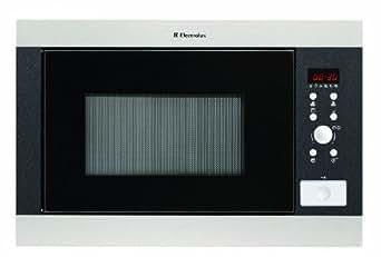 Electrolux EMS-26418 X Micro-Ondes et Gril Encastrable 26 L 900 W Inox et Noir