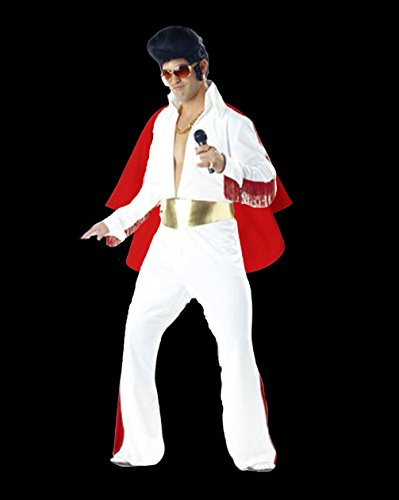 Elvis Kostüm König Von Rock 'n' Roll (Rocknroll König Kostüme)