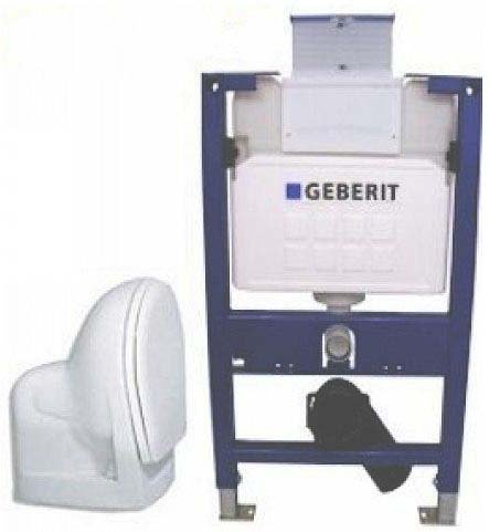 Geberit Duofix Vorwandelement UP200, WC, Set