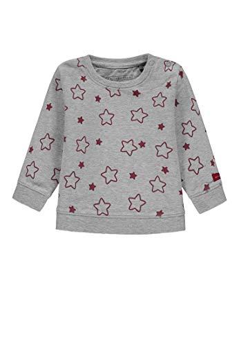 Bellybutton Kids Baby - Mädchen Sweatshirt 1/1 Arm Sweatshirt, per Pack Mehrfarbig (Allover 0003), 86 (Herstellergröße: 86)