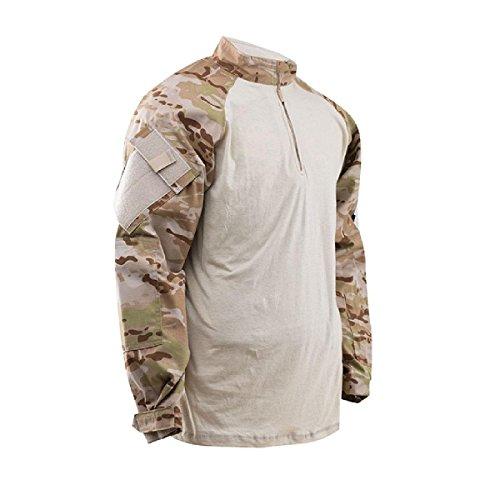 TRU-SPEC Combat Shirt 1/4 Zip Multicam Arid, XL, Multicam Arid