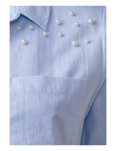 Street One, Blouse Femme Blau (Sailing Blue 10763)