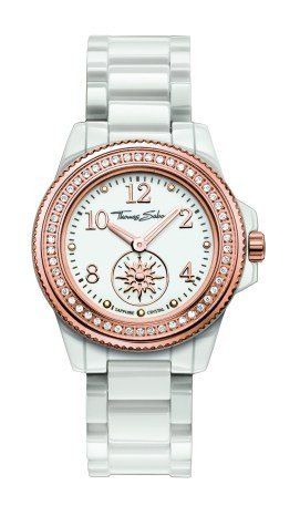 Thomas Sabo Women's Quartz Watch with Ceramic WA0171 206 Satellite 33