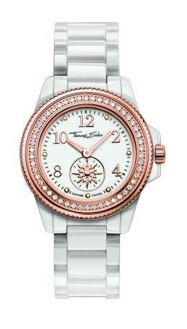 Thomas Sabo Women's Quartz Watch with Ceramic WA0171206Satellite 33