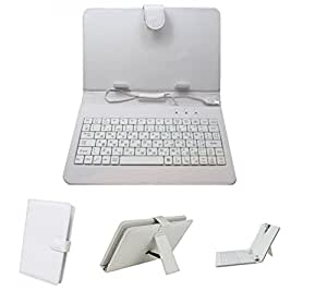 Iball Slide 3G 7334Q- White Keyboard Case by Krishty Enterprises