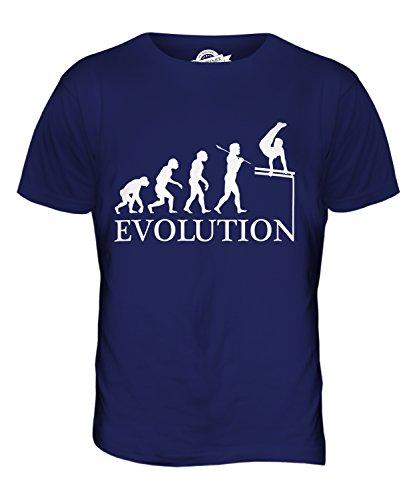 CandyMix Gymnastik Barren Turngerät Evolution Des Menschen Herren T Shirt Navy Blau