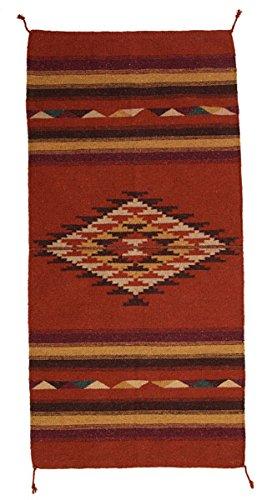 Teppich / Läufer im Stil der Navajo-Indianer - Mountain Lodge, Style XX (Route 66-teppich)