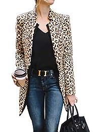 Chaquetas de traje y blazers para mujer | Amazon.es