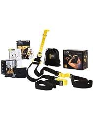 Trx Trainer Pro Pack - Sistema para ejercicios de suspensión, color amarillo y negro