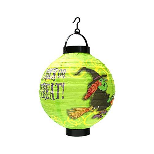 Und Mann Rot Silber Iron Kostüm - Halloween Laternen Dekoration Bunte hängende Papierlaterne Ghost Skeletal Kürbis Hexe Spinne gemusterte chinesische Laternen mit Haken Halloween Holiday Party Favors Dekorationen 8,3 '.