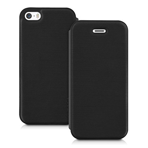 kwmobile Apple iPhone SE / 5 / 5S Hülle - Handyhülle für Apple iPhone SE / 5 / 5S - Handy Case Schutzhülle Klapphülle