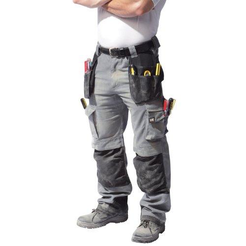 caterpillar-c172-pantaloni-da-lavoro-uomo-girovita-112cm-grigio-nero