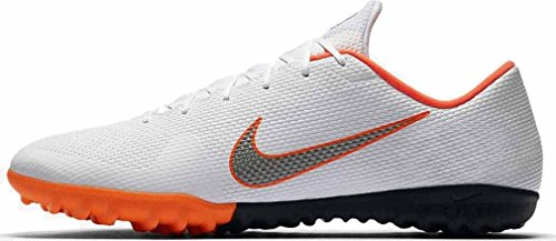 Nike Unisex-Erwachsene Mercurial Vapor X 12 Academy TF AH7384 1 Fußballschuhe, Mehrfarbig (Indigo 001), 42 EU