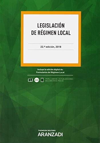 Legislación de régimen local (Código Profesional)
