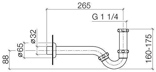 Bidet-Röhrengeruchverschluss DORNBRACHT