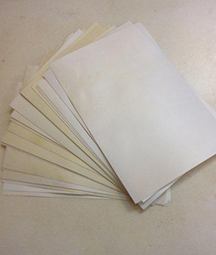 Vera 100% a mano pergamena medievale in pelle di capra 15,2x 20,3cm