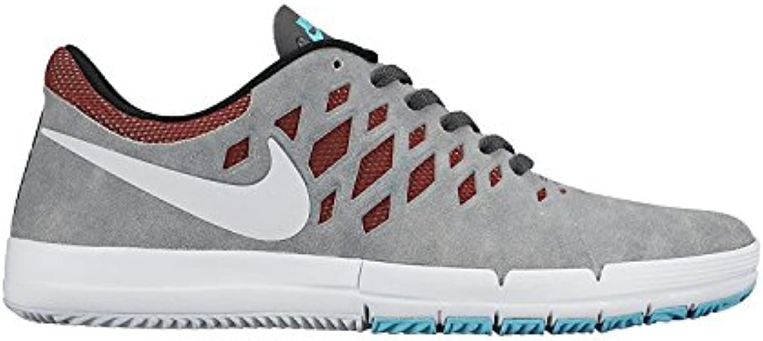 Nike SB Free Skate Shoe - Mens Dark Grey/White-Team Red-Black, Dark Grey/White-Team Red-Black, 42 EU/7.5 UK