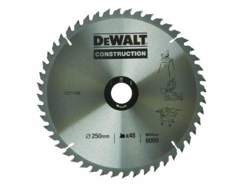 dewalt-dt1159qz-250-x-30mm-x-48-tooth-construction-circular-saw-blade