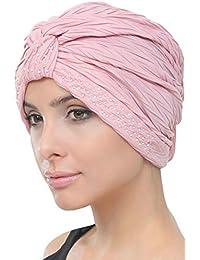 Deresina Headwear Perlas W Turbante para La Quimioterapia 2f9117ffd5c