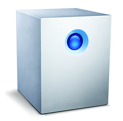 LaCie 5big Thunderbolt™ 2 - 10 TB, Hardware-RAID 0 / 1 / 5 / 6 / 10 / JBOD , 2 x Thunderbolt™ 2, 7200 rpm - LAC9000510EK
