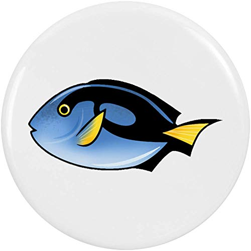 Azeeda 2 x 38mm 'Tropischer Fisch' Pin Knopf-Abzeichen (BB00062191) -