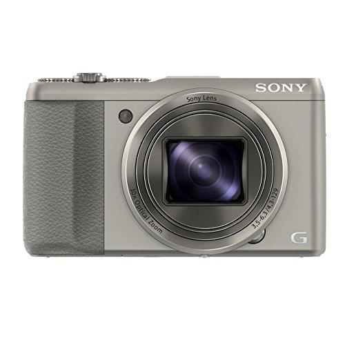 Sony DSC-HX50 Digitalkamera (20,4 Megapixel, 30-fach opt. Zoom, 7,6 cm (3 Zoll) LCD-Display, Full HD, WiFi) inkl. 24mm Sony G Weitwinkelobjektiv silber Sony Dsc-hx50