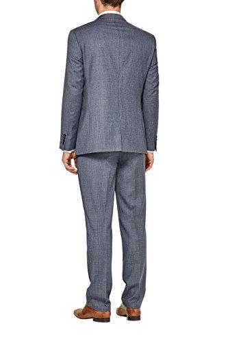 next Hommes Coupe Classique Costume En Laine Mélangée: Veste Bleu clair
