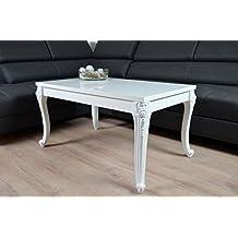 Stunning Barock Couchtisch Holz Hochglanz Wei Wohnzimmer Lack Tisch Xcm  With Couchtisch Wei 100x100